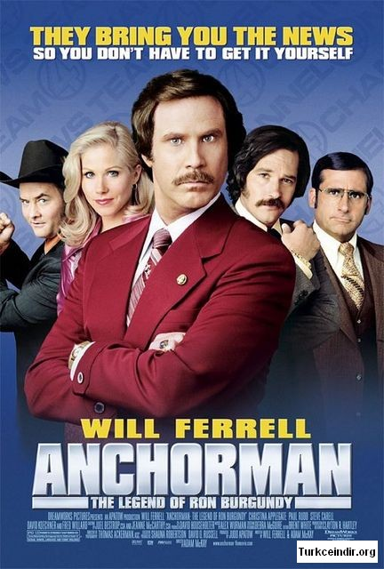 Anchorman film izle