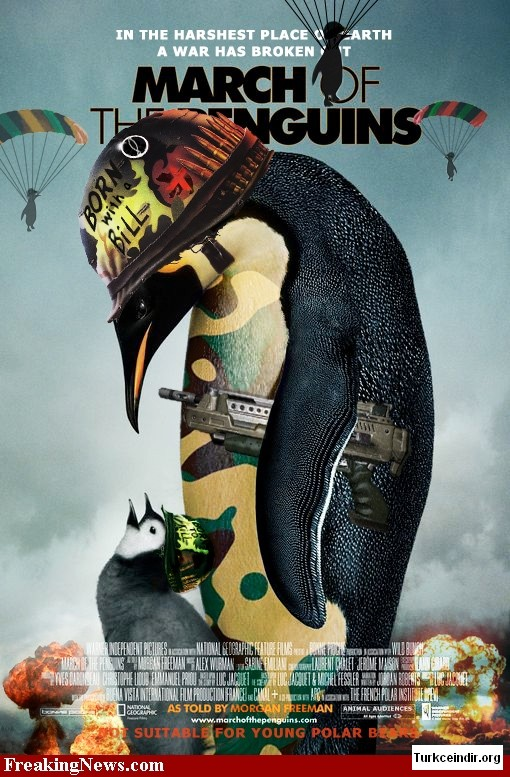 March Of The Penguins film izle