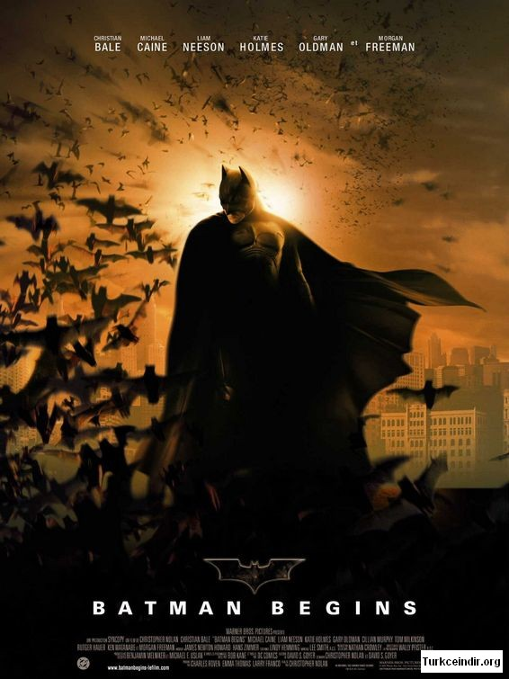 Batman Begins film izle
