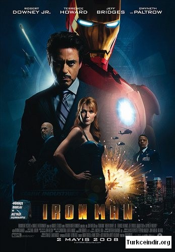 Demir Adam Iron Man turkce film izle