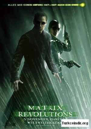 MATRIX Revolutions -matrix 3