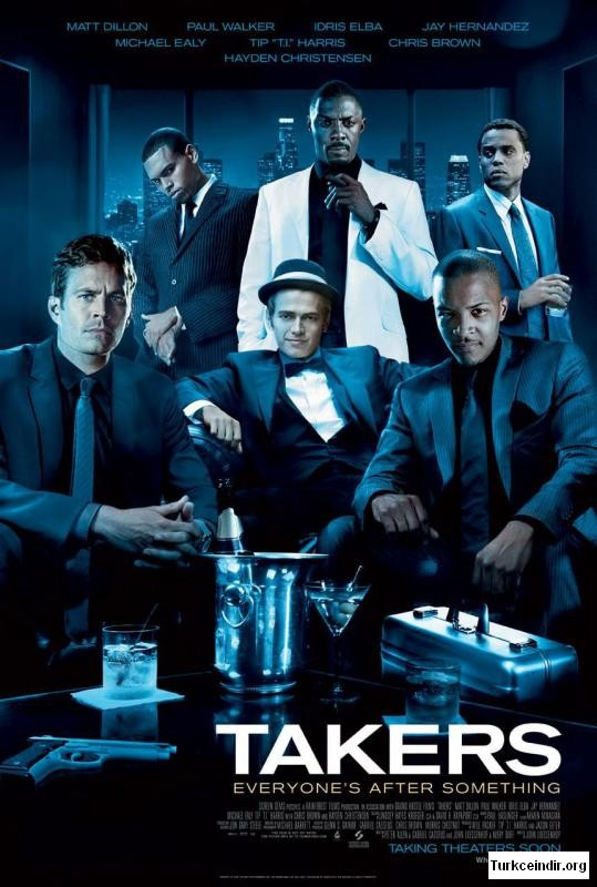 Takers film izle