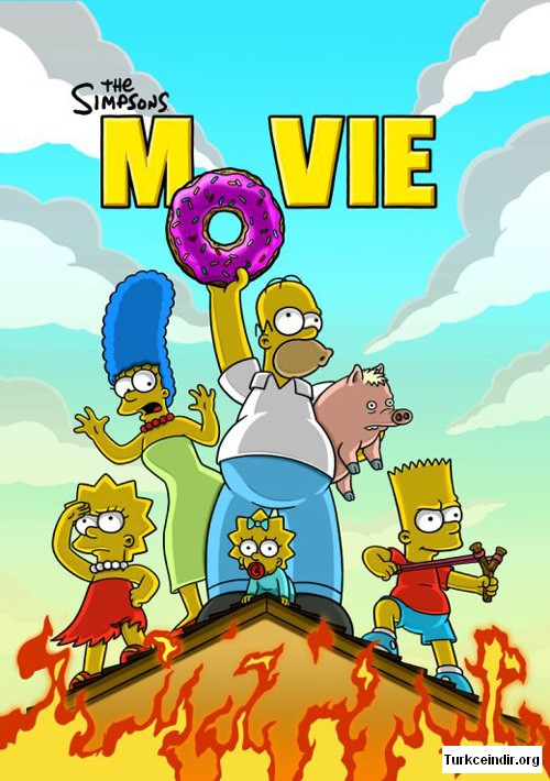 The Simpsons Movie film izle