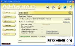 Ad-Aware SE Turkce Yama