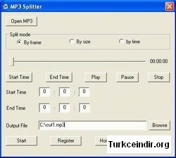 MP3 Splitter