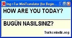 ingTur Mini Translator (Cevirmen)