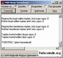 MSN Virus Cleaner