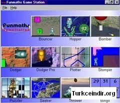 Funmaths Game Station