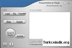 PowerPoint to Flash Turkce Yama
