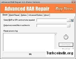 Advanced RAR Repair