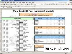 World Cup 2006 Tournament Calendar